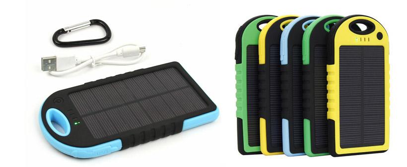 Regalo publicitario cargador solar