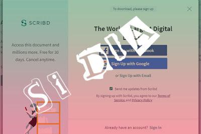 Cara Download File dari Scribd dengan Mudah Tanpa Login