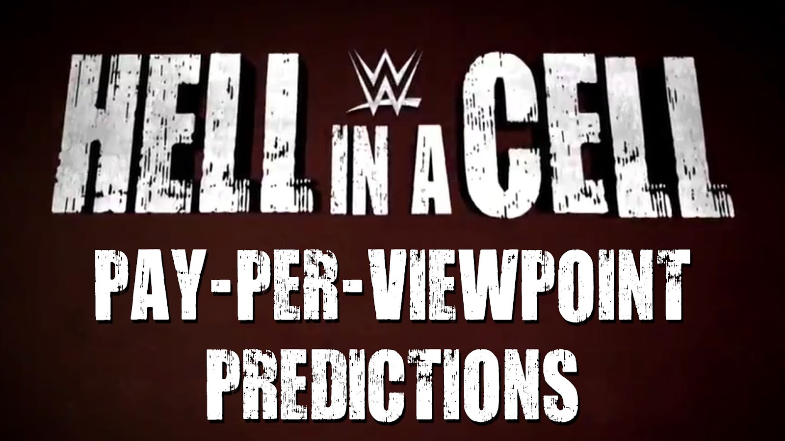 WWE Hell in a Cell 2016 spoilers podcast