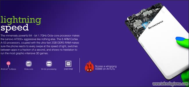 Spesifikasi Dan Harga Lenovo A7000 Special Edition