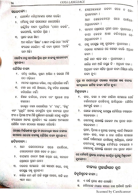 Odia Study Materials For OTET Aspirant