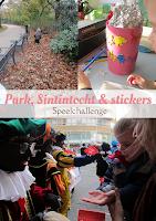 Park, Sintintocht & stickers - speelchallenge