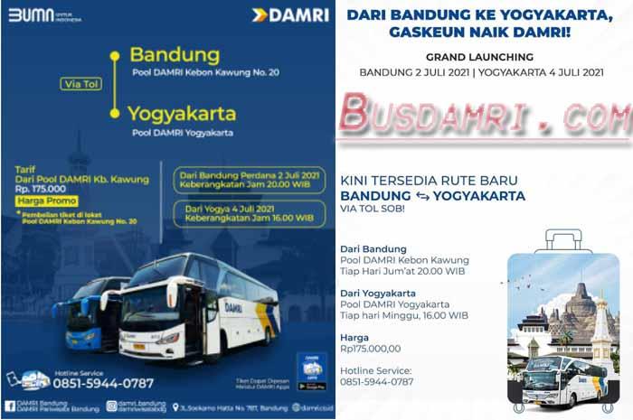 Jadwal Damri Bandung Jogja dan Harga Tiket Terbaru