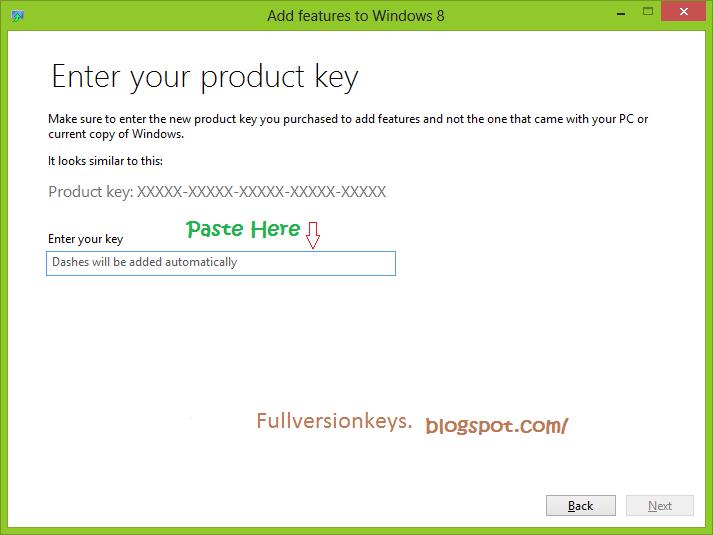 Windows 8 Product Key Free Download
