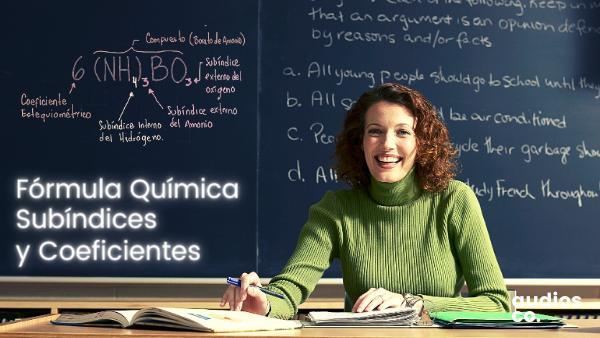 ▷ Ejemplos y qué representan los coeficientes y subíndices en una ecuación química