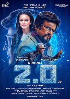 Poster 2.0 2018 Hindi Dubbed HD 1080p
