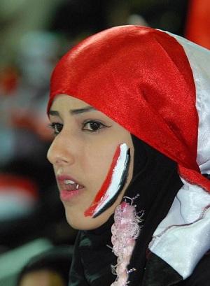 صور مشجعات مصر 2018 في الملعب ، مشجعات مصريات جميلات