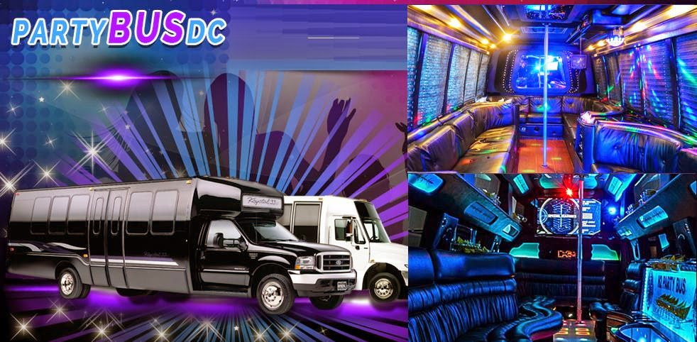 Party Bus DC Rental Services