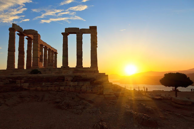 Sunset tour to Cape Sounion and Temple of Poseidon