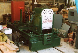 Lister auto truck locomotive