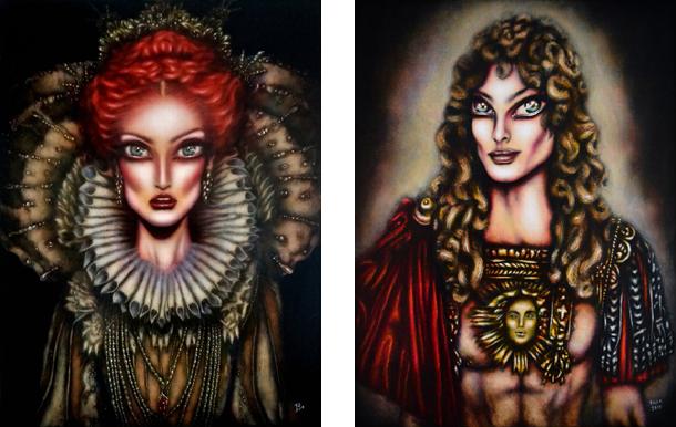 Elizabeth I  / Louie XIV