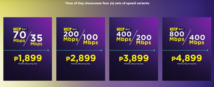Converge offers speed boost for P399