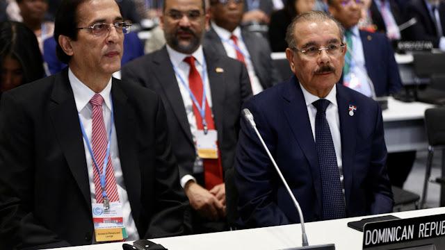 Danilo Medina participa en apertura COP25 y reafirma compromiso RD de reducir 25% de emisiones hacia el 2030