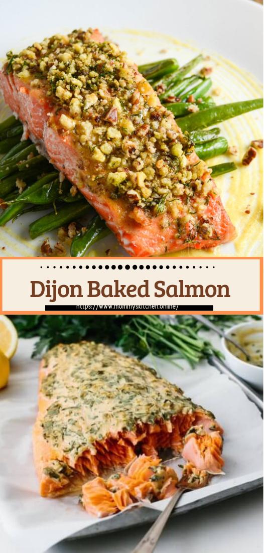 Dijon Baked Salmon #healthyfood #dietketo #breakfast #food