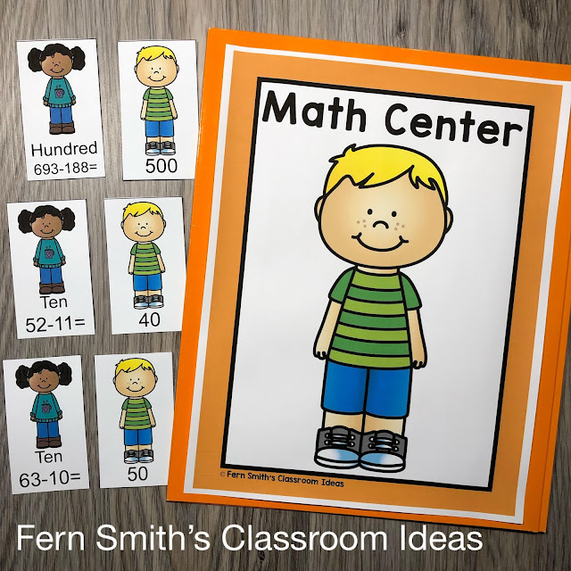Click Here to Download 3rd Grade Go Math 1.8 Estimate Differences Bundle Today for Your Classroom!