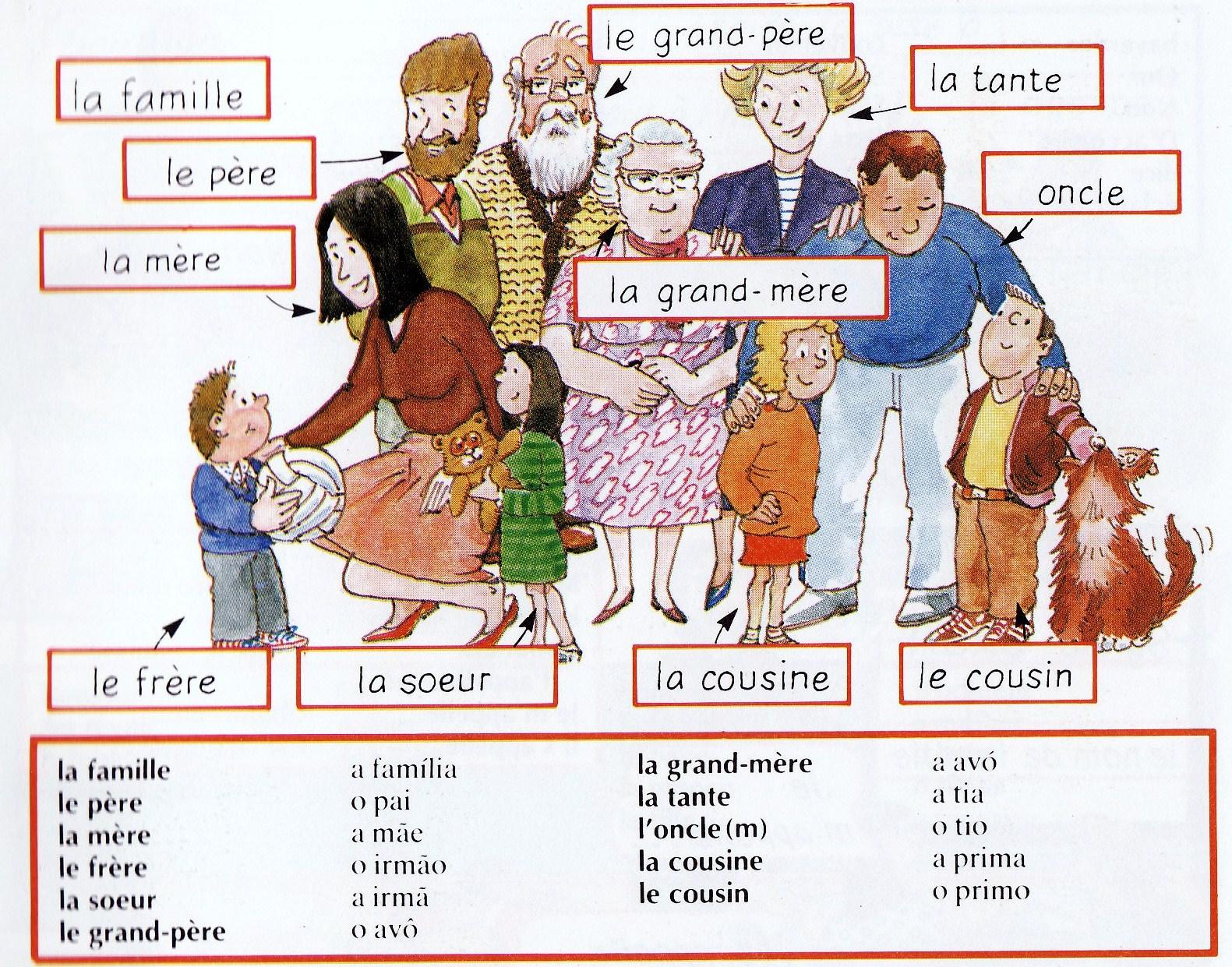 1 2 3 C Est Parti Delf A1 A2 La Famille
