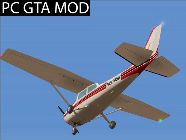 Free Download Cessna 172 Skyhawk Big Fix  Mod for GTA San Andreas.