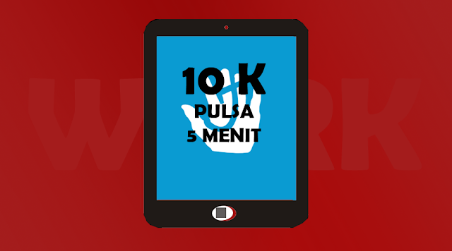 5 Menit Langsung Dapat Pulsa 10.000 Dari Aplikasi ini!!