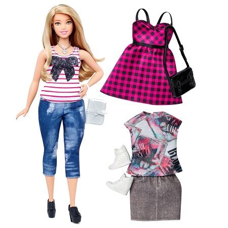 Coleção Barbie Fashionistas 2016 - Curvilínea (curves)