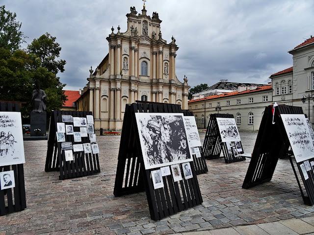 centrum Warszawy wystawa Powstanie Warszawskie