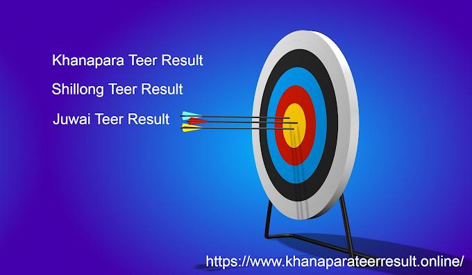 Khanapara, Shillong, Juwai Teer Result Today