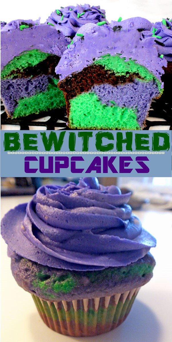 BEWITCHED CUPCAKES #cupcakerecipes