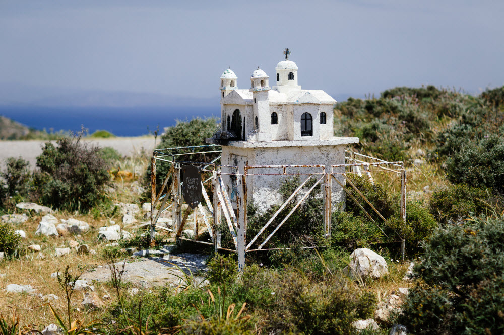 greece roadside shrine