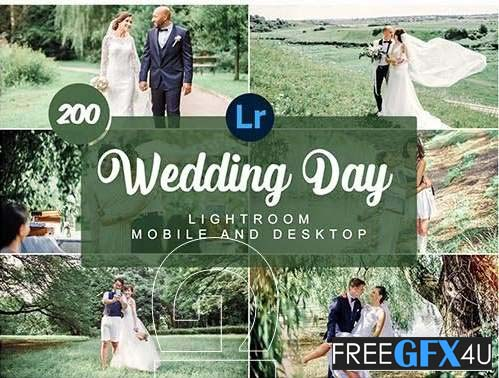 Wedding Day Mobile and  Deskstop Presets