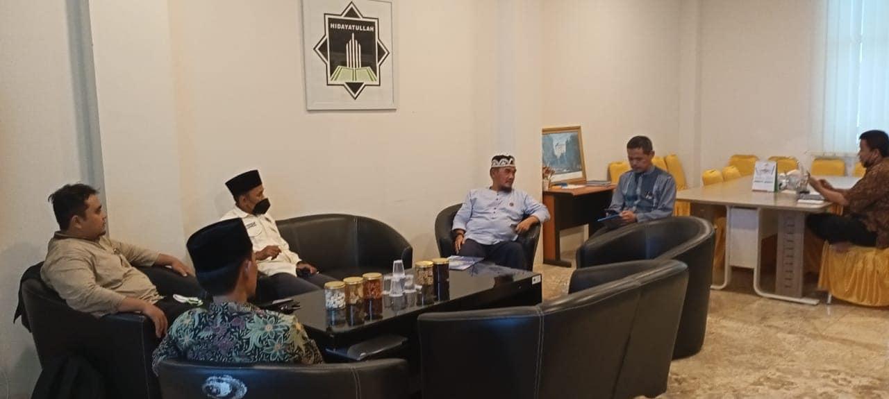 DPW Hidayatullah DKI Jakarta Audiensi dengan DPP Hidayatullah