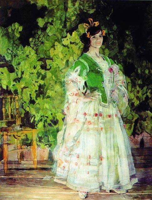 """Aleksandr Golovin """"Carmen"""" (1908)"""