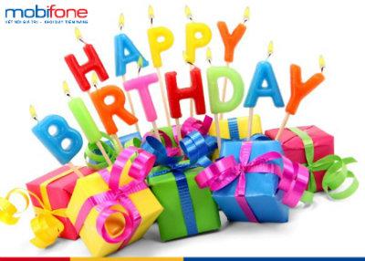 Mobifone mừng sinh nhật khách hàng
