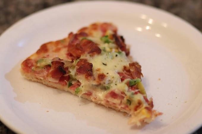 A pizza acessível e apetitosa da Rosa Maria