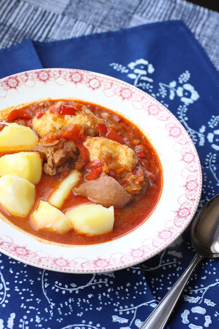 mijote hongrois goulash