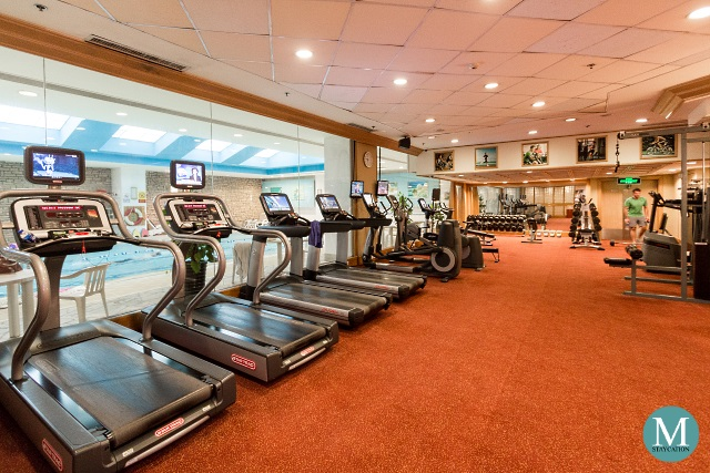 Fitness Center at Shangri-La Hotel Wuhan