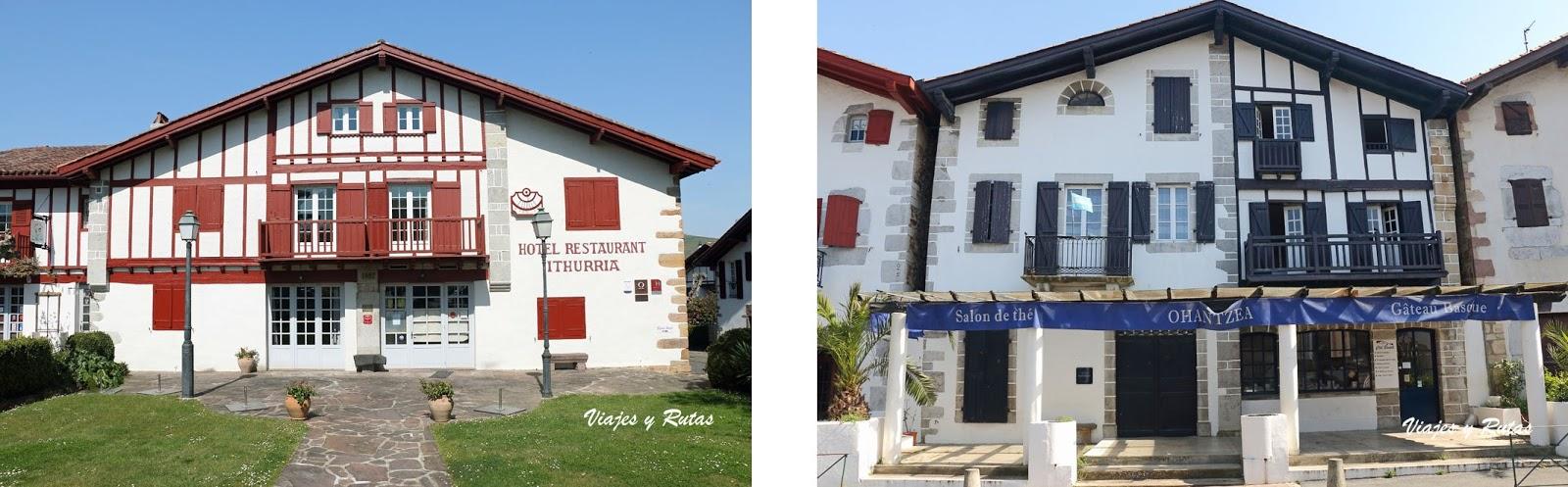Casas de Ainhoa, Francia