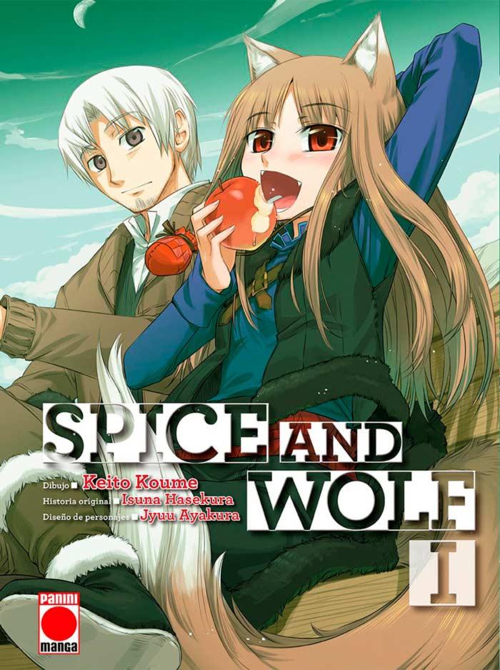 Spice and Wolf (Ookami to Koushinryou) manga - Panini Cómics España