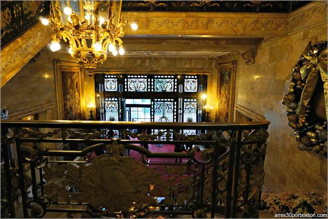 Escalera Principal de Marble House, Newport