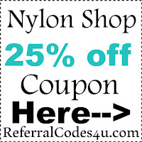 Nylon Shop Promo Code 2016-2017, Nylon Shop 25% off Coupons October, November, December