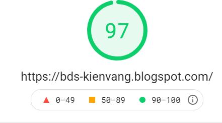 Mẫu blogpsot được tối ưu tốc độ load trang nhanh