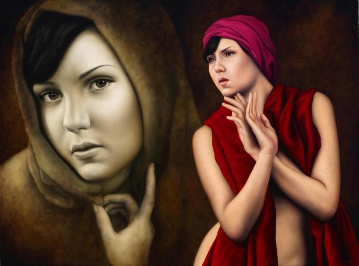 Современный художник-реалист. Carlos Oviedo 3