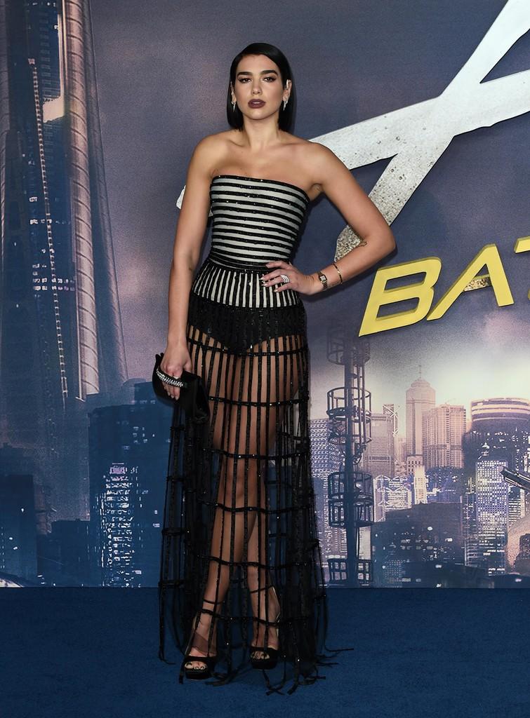 """Dua Lipa – """"Alita: Battle Angel"""" Premiere in London - 01/31/2019"""