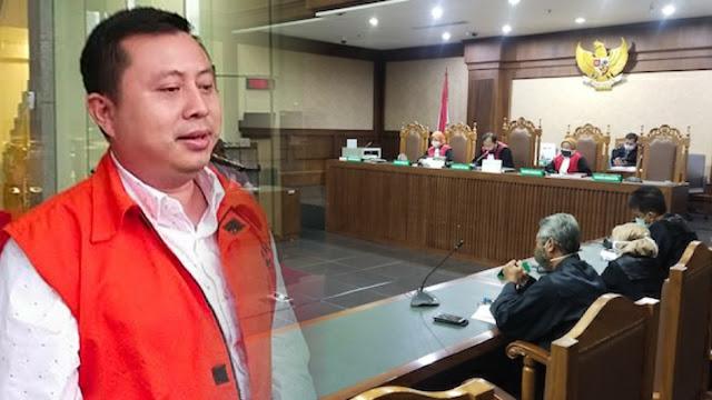 Saeful Bahri, Kader PDIP Penyuap Wahyu Setiawan Divonis 1 Tahun 8 Bulan Penjara