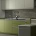 Minimalist Kitchen Visualization