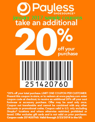 Shoe company coupons june 2018