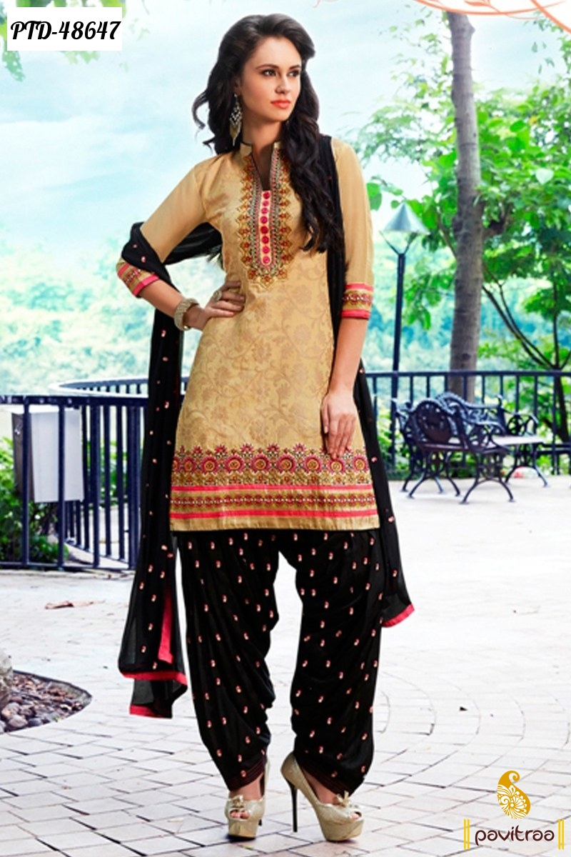 Latest Fashion Punjabi Patiala Ladies Salwar Suits 2015 Online