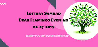 Dear Flamingo Evening ,Lottery Sambad