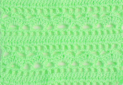 5 - Crochet Imagenes Puntada combinada para blusas y canesú por Majovel Crochet