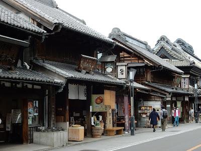 蔵造りの町並み