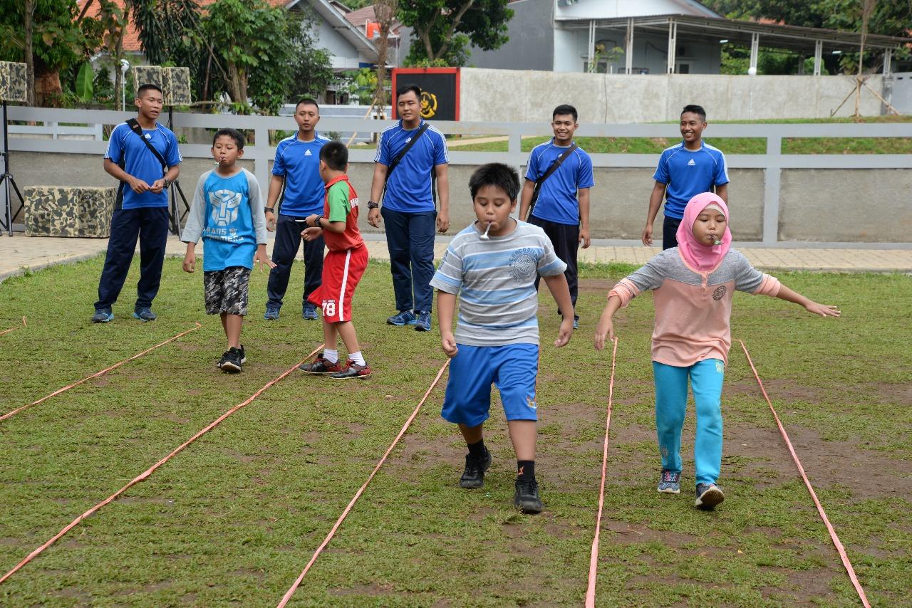 Dankormar Olahraga Bersama Mempererat Silaturahmi Dan Kerukunan