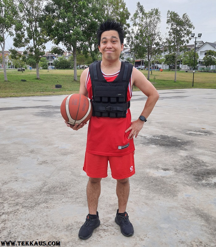GravGear Adjustable Weighted Vest Basketball Review